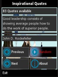 Inspirational Quotes Free Nokia X2 Java App download