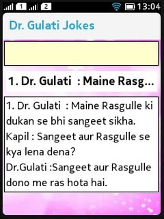 Dr Gulati Jokes (Nokia Asha) Free Nokia N8 Java App download