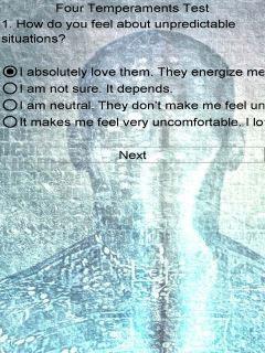 four temperaments in love