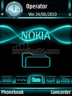 nokia 6120 clock