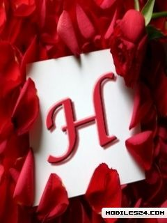 Letter H Free Nokia X2 Wallpaper Download