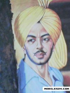 Bhagat Singh Free 240x320 Wallpaper Download Download Free Bhagat