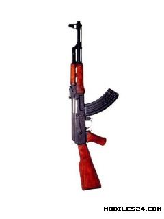 AK 47 Free 240x320 Wallpaper Download