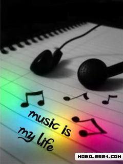 Music is my life free 240x320 wallpaper download download free music is my life hd 240x320 - Music is life hd ...