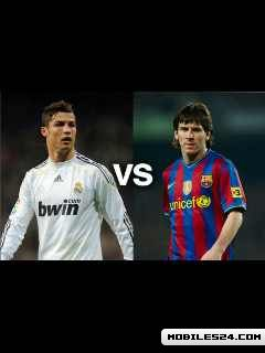 Ronaldo Vs Messi Free 240x320 Wallpaper Download Download Free