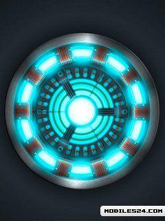 Iron Man Arc Reactor Free HTC Tattoo Wallpaper download ...
