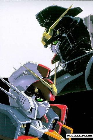 Gundam Wing Heavy Arms Free Apple Iphone Wallpaper