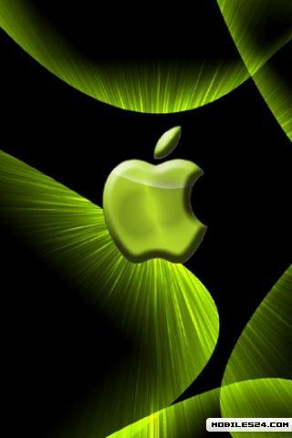 New Green Apple Free 320x480 Wallpaper Download Download