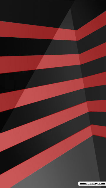 Red Stripes Free Nokia 5530 XpressMusic Wallpaper Download