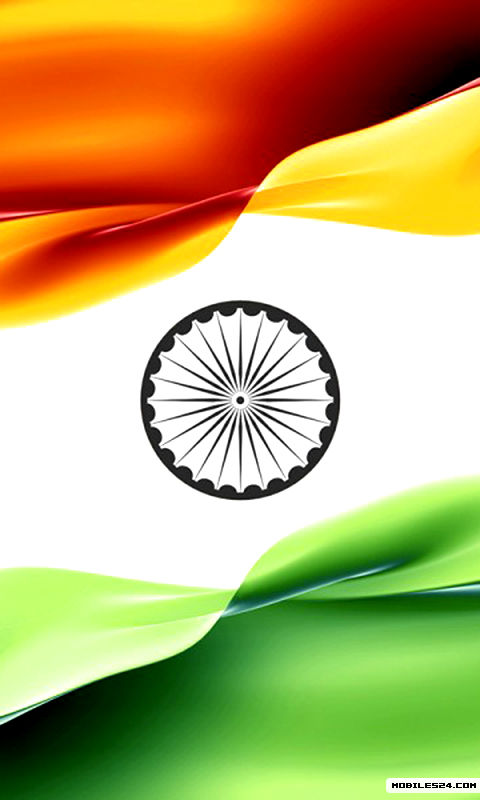 Indian Flag Free 480x800 Wallpaper download - Download ...