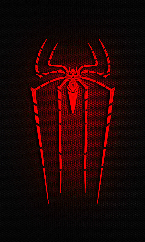 spiderman logo free 480x800 wallpaper download download free
