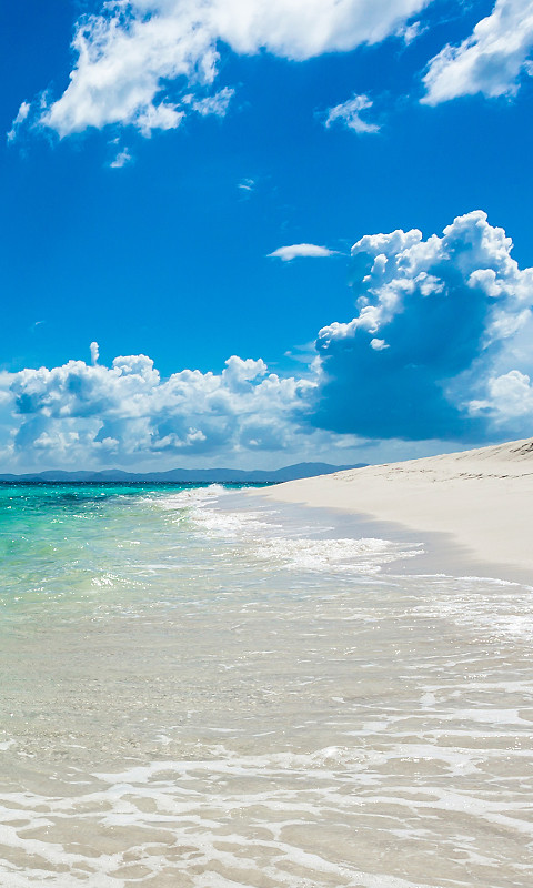 Summer beach free 480x800 wallpaper download download free summer summer beach voltagebd Choice Image