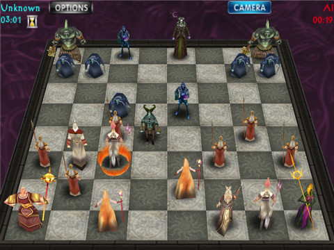 WarChess 3D 1 0 Free Symbian S60 3rd, 5th Edition & Symbian^3 Game