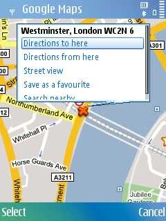 Google Maps 4.1.1 Free Symbian S60 3rd, 5th Edition & Symbian^3 App on