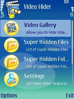 Video Hider 2 00 Free Nokia E63 App download - Download Free