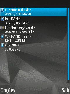 برنامج الملفات Nokia File Browser 4.05.2