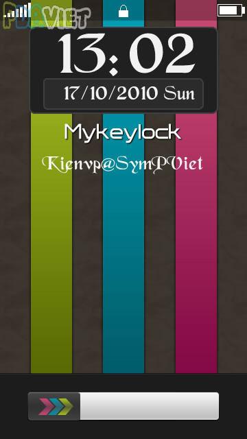برنامج Mykeylock 1.19.1 المفاتيح