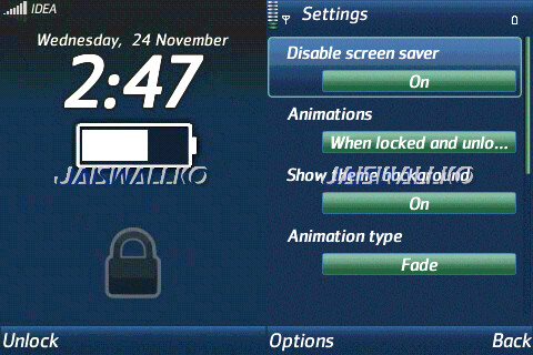 برنامج Lock Screen 0.15.91 الهاتف