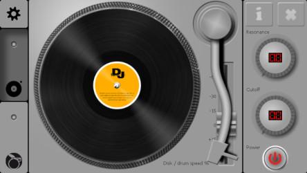 برنامج مشغل الصوتيات والدي جي DJ Turntable 1.2.1