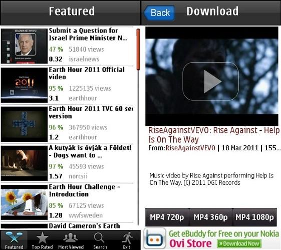 برنامج ومشاهدة اليوتيوب الجوال PicoBrothers YouTube Downloader 2.00