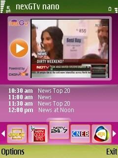 nexGTv Nano 2 10 1174 Free Nokia E5 App download - Download Free