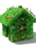Green House Clock