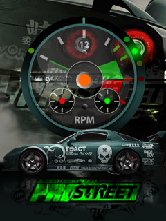 Need For Speed Clock