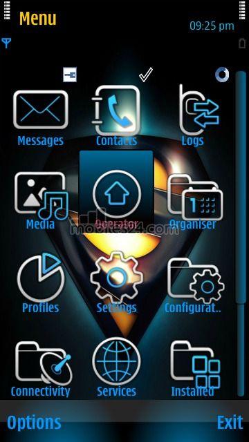 Superman Free Nokia 5230 Theme download - Download Free