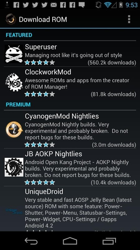 Xperia Stable Rom