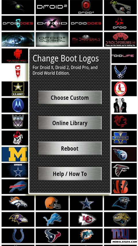 droid boot logo changer free samsung intercept m910 app download download the free droid. Black Bedroom Furniture Sets. Home Design Ideas