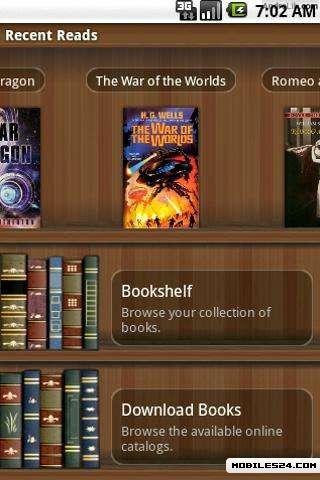 Aldiko Book Reader Premium Free Samsung Galaxy Y App