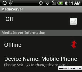 Mobile Media Server Free Sony Ericsson Xperia Active App