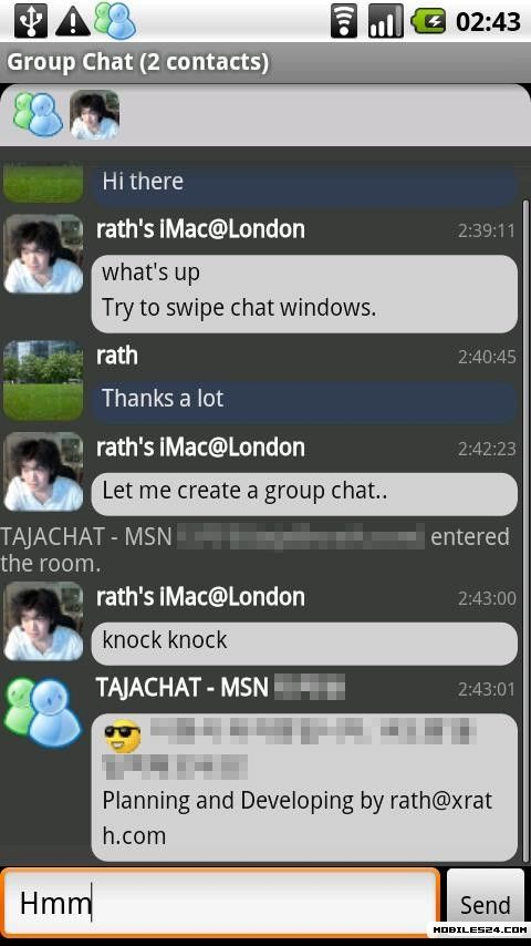 msn talk android download free