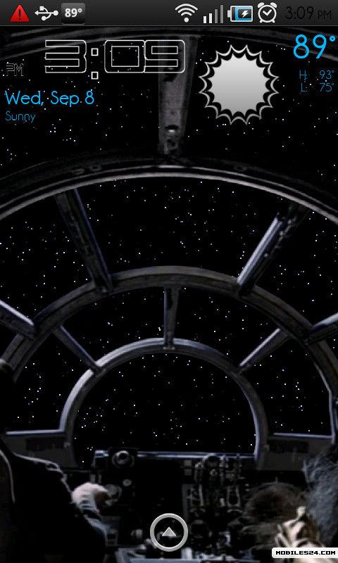 star wars live wallpaper lightspeed free sony ericsson