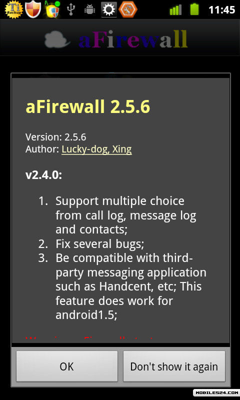 ANDROID TÉLÉCHARGER AFIREWALL