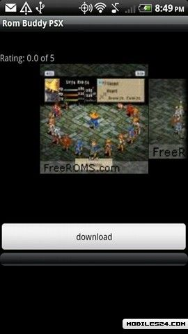 rom psx android
