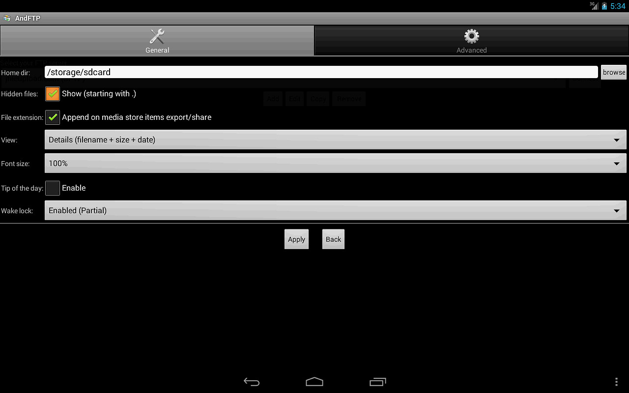 andftp your ftp client free samsung galaxy s3 app