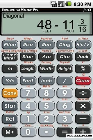 construction master pro calculator free download