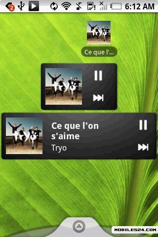 Pure Music Widget Free Samsung Galaxy S (I9000) App download