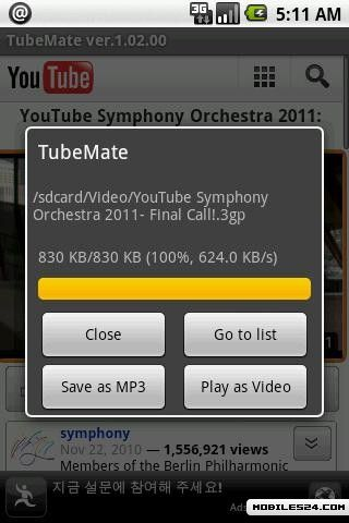 TubeMate - YouTube Downloader Free Samsung Galaxy S2 App download