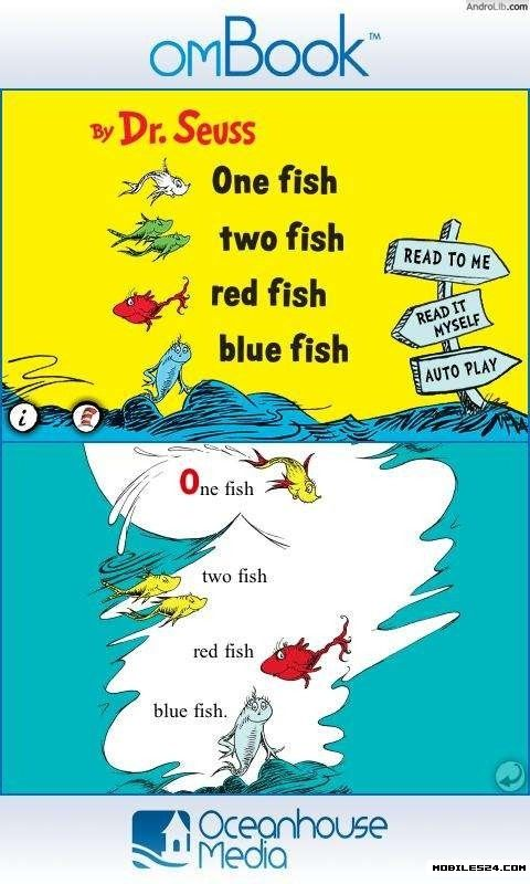 One fish two fish dr seuss free android app download for One fish two fish read aloud