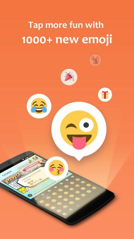 GO Keyboard - Emoji, Wallpaper Free Samsung Galaxy Y App