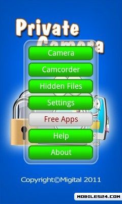 Private Camera Lite Free Android App download - Download the