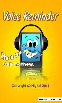 Voice Reminder Lite Free Samsung Galaxy S3 App download - Download the
