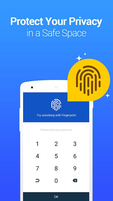 Vault-Hide SMS,Pics & Videos,App Lock,Cloud backup Free