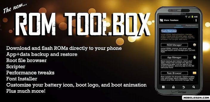 ROM Toolbox Pro Free LG Optimus L3 App download - Download the Free