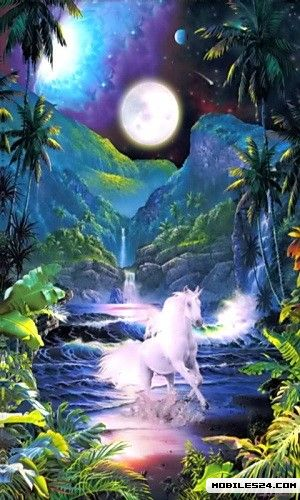 Magical Unicorn 2 Live Wallpaper Free Samsung Galaxy S3 App Download