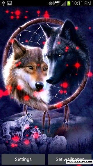 Dream Catcher Wolves Live Wallpaper Free Android App Download Beauteous Dream Catcher App