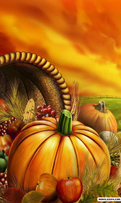 live thanksgiving wallpaper