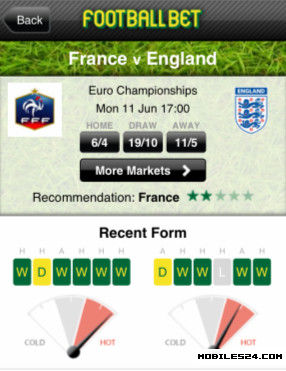 Football Bet Free Android App download - Download the Free